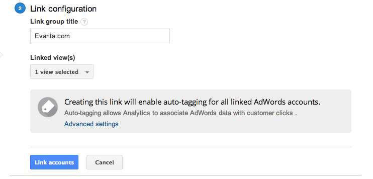 adwords-linking-analytics-auto-tagging