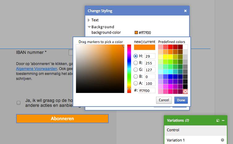visual-website-optimizer-landing-page