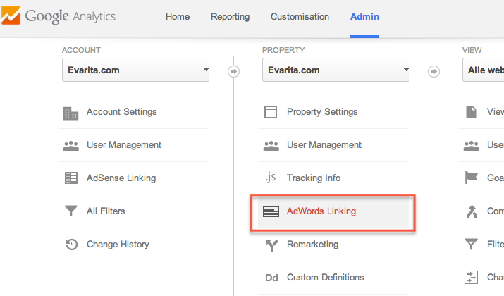 adwords-linking-analytics